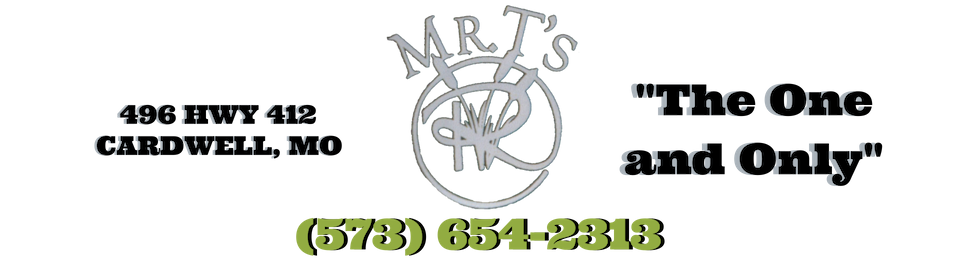 Call or Visit Mr. T's Today!